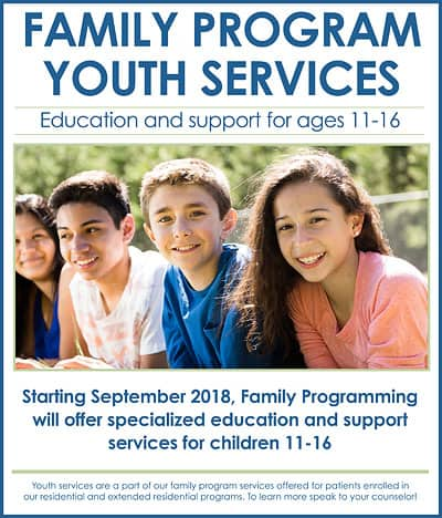 Serenity Lane Family Program Youth Services