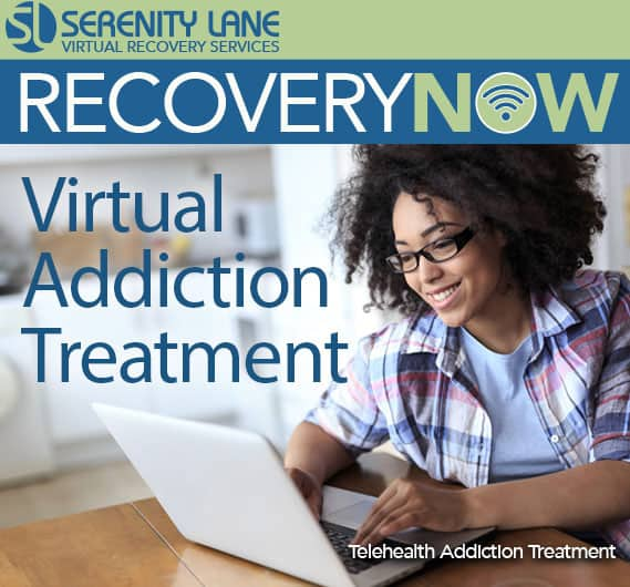 RecoveryNOW Virtual Addiction Treatment Services from Serenity Lane