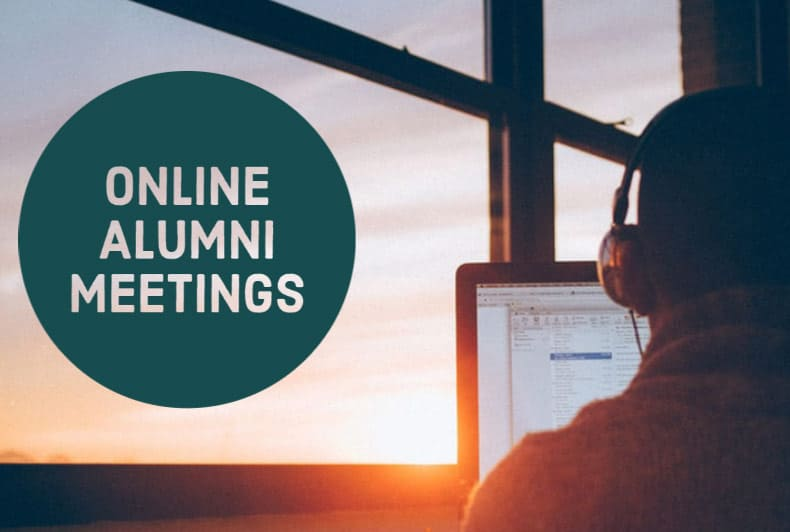 Online Alumni Meeting at Serenity Lane